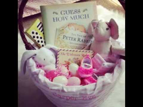 Easter basket ideas for babies youtube easter basket ideas for babies negle