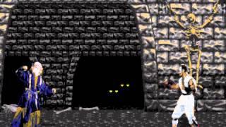 Mortal Kombat 1 [Genesis] - play as Shang Tsung (glitches)
