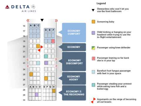Deltas New Airplane Seating Chart