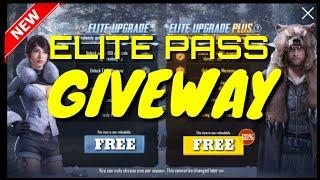 Season 4 elite pass give away free