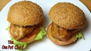 Teriyaki Chicken Burgers - Recipe