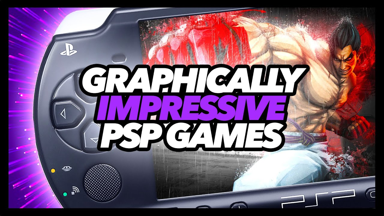 Download Graphically Impressive PSP Games