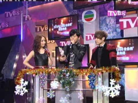 20101219 張杰 Jason Zhang  TVB8金曲獎頒獎禮 這,就是愛 It's Love+看月亮爬上來