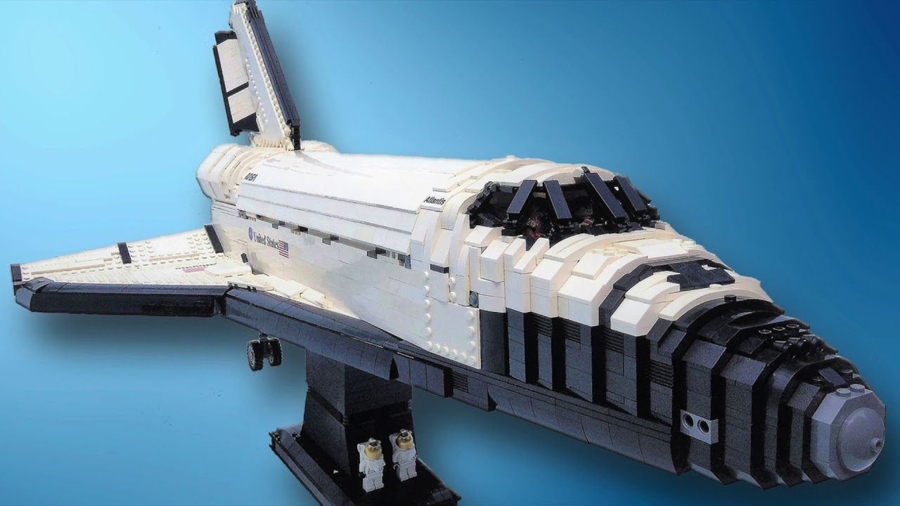 lego ideas ucs space shuttle atlantis youtube. Black Bedroom Furniture Sets. Home Design Ideas