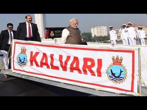 Mumbai: PM Modi dedicates INS Kalvari to the nation