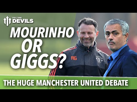 José Mourinho or Ryan Giggs?: The HUGE Manchester United Debate! Who to Appoint?!