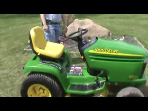 John Deere Gt235 Lawn And Garden Tractor 48 Deck 18hp V Twin For