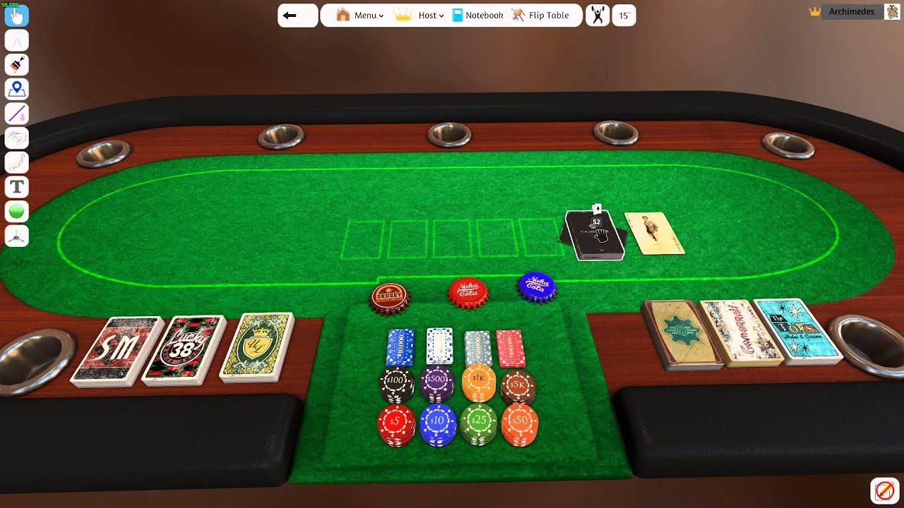 Tabletop Simulator: Fallout Poker 1.0 - YouTube