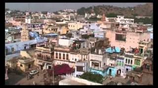 Scenic Overhead and Rooftop views of Pushkar, India