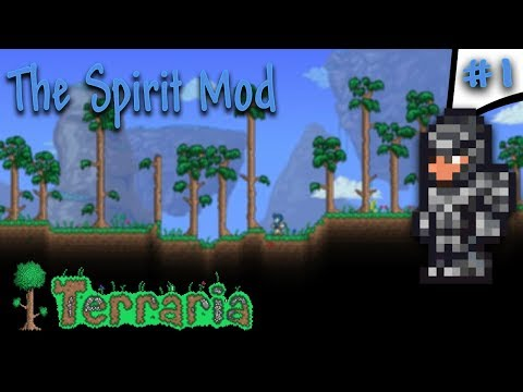 Terraria Spirit Mod | New Gear, New Enemies, New Challenge! | Expert Episode 1