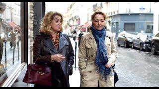 フランスを代表する女優のカトリーヌ・ドヌーヴと『偉大なるマルグリッ...