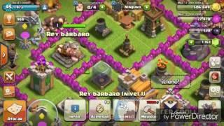 Rey Barbaro V.S. 1 Aldea - Clash Of Clans (Parodia MLG)