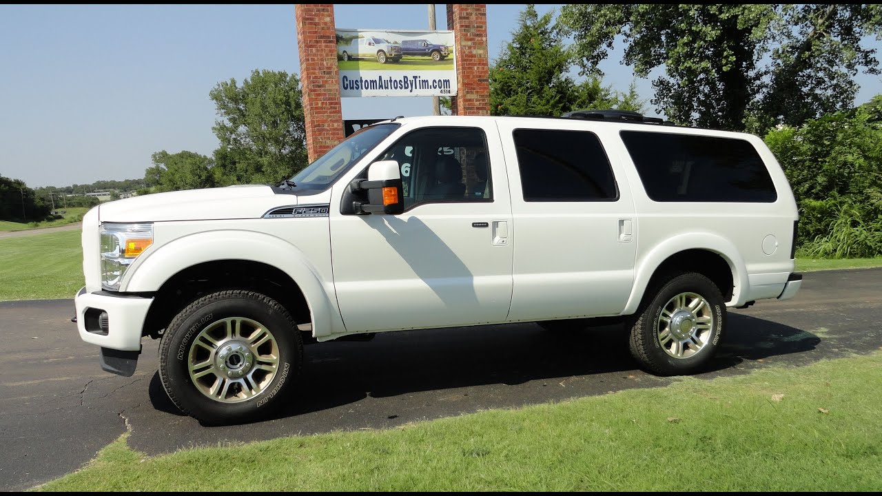 12 Ford King Ranch Excursion