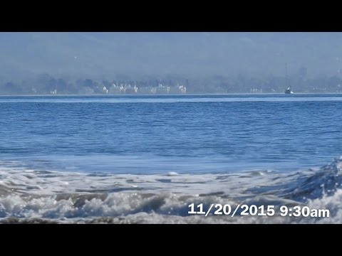 Flat Earth 6.95 mile curvature zoom test thumbnail