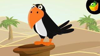 Ek Kauwa Pyasa Tha - Hindi Animated/Cartoon Nursery Rhymes For Kids