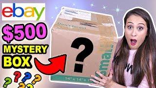 $500 MYSTERY BOX VAN EBAY OPENEN! *ONGELOFELIJK*