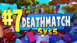 TOP 7 BEST TEAM DEATHMATCH Creative Maps In Fortnite | Fortnite Deathmatch Map CODES (5vs5)