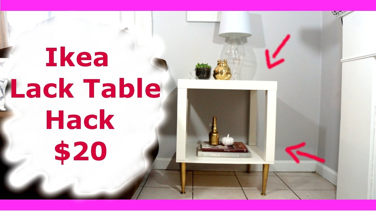 Ikea Lack Table Hack New Diy Series Youtube