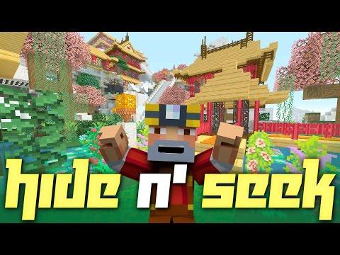 Minecraft Xbox One: Hide N' Seek on Chinese Mythology Mash-Up Pack World!