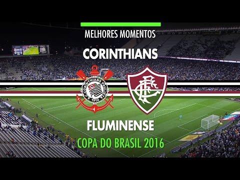 Melhores Momentos - Corinthians 1 x 0 Fluminense - Copa do Brasil - 21/09/2016