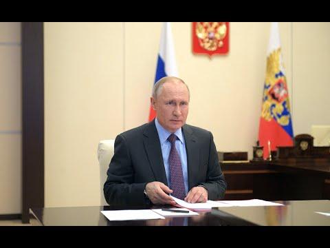 Главное остановить КОРОНАВИРУС! Путин объяснил почему продлил КАРАНТИН до мая