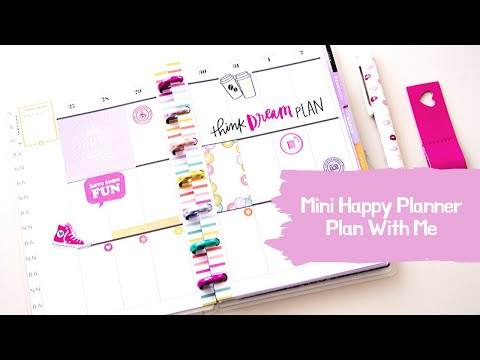 My Little Happy Planner - Plan With Me - Planner Babe
