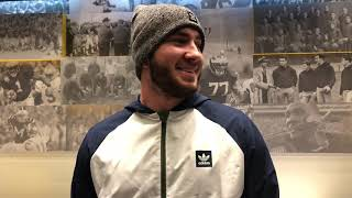What playing for Michigan means to Shea Patterson