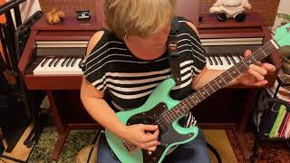 34 Stratocaster type tenor guitar demo  DGBE tuning made by Mike Soares SOLD
