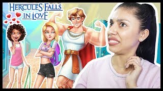 THE  NEW GUY AT SCHOOL HAS A CRUSH ON ME! - Hercules Falls in Love - Boys & Girls School Crush!