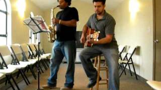 Thank you for the cross Lord - Sax & Guitar Duet