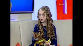 Фелинолог София Ступина: я начала изучать кошек, когда еще не ходила в школу