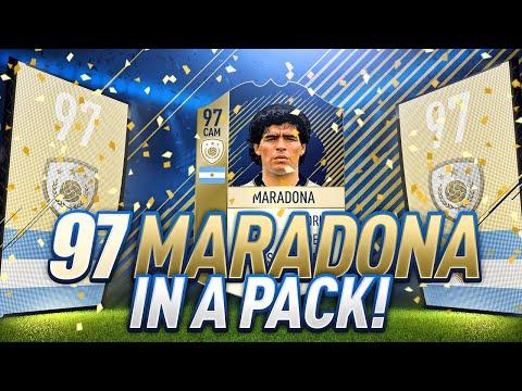 97 PRIME MARADONA IN A PACK!