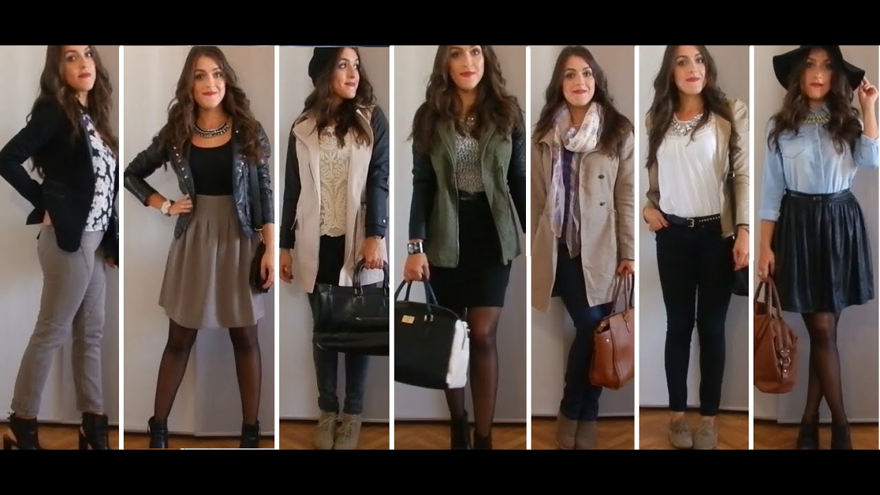 Lookbook de l 39 automne 7 tenues youtube Fashion style girl hiver 2015