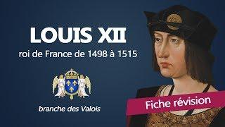Fiche révision : Louis XII - roi de France