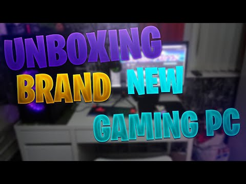 UNBOXING MY NEW GAMING PC
