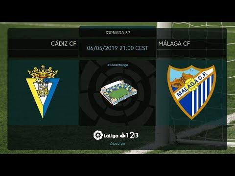 Cádiz CF - Málaga CF MD37 D2100