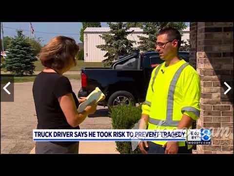Semi Truck Driver Fired after Saving Lives