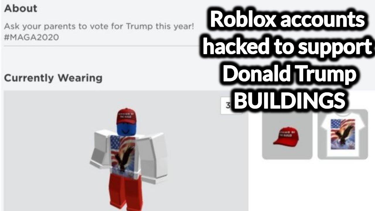 Roblox Account Hacked Trump