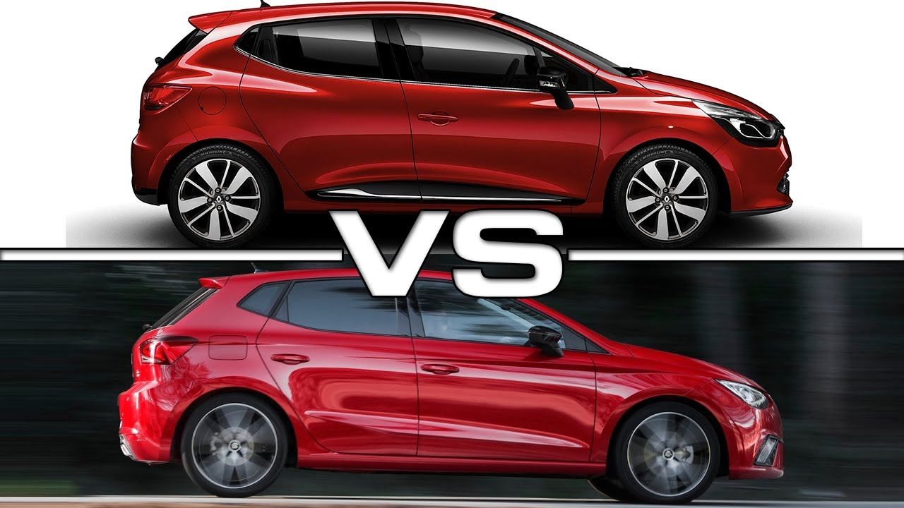 2017 renault clio vs 2018 seat ibiza youtube. Black Bedroom Furniture Sets. Home Design Ideas