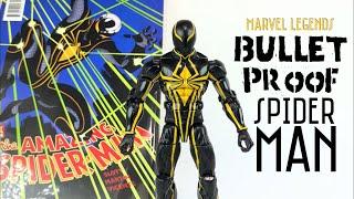 Bullet Proof/MKII Spider-Man Custom Marvel Legends PS4 Spider-man game action figure review