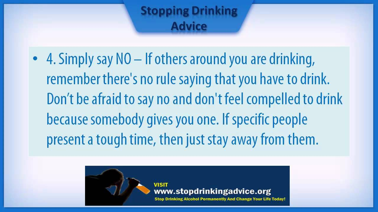 7 Key Tips That Reveal How To Stop Drinking Alcohol
