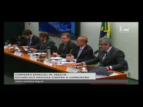 PL 4850/16 - ESTABELECE MEDIDAS CONTRA A CORRUPÇÃO - Reunião Deliberativa - 31/08/2016 - 09:53