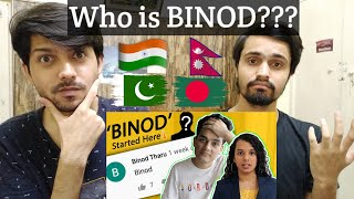 Pakistani Reacts Who is Binod ? Why He is Trending Everywhere?