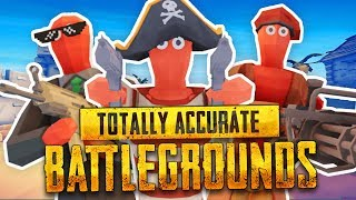 NEW TABS BATTLE ROYALE MODE (Totally Accurate Battlegrounds Simulator / TABG Funny Gameplay)