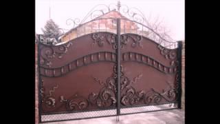 кованые ворота(Наша компания, с радостью изготовит для Вас сварные и кованые ворота и калитки. Навесы. Заборы. Поручни...., 2016-01-22T14:54:01.000Z)
