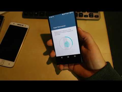 Fingerabdrucksensor des Xperia XZ versagt im Vergleich mit Moto Z
