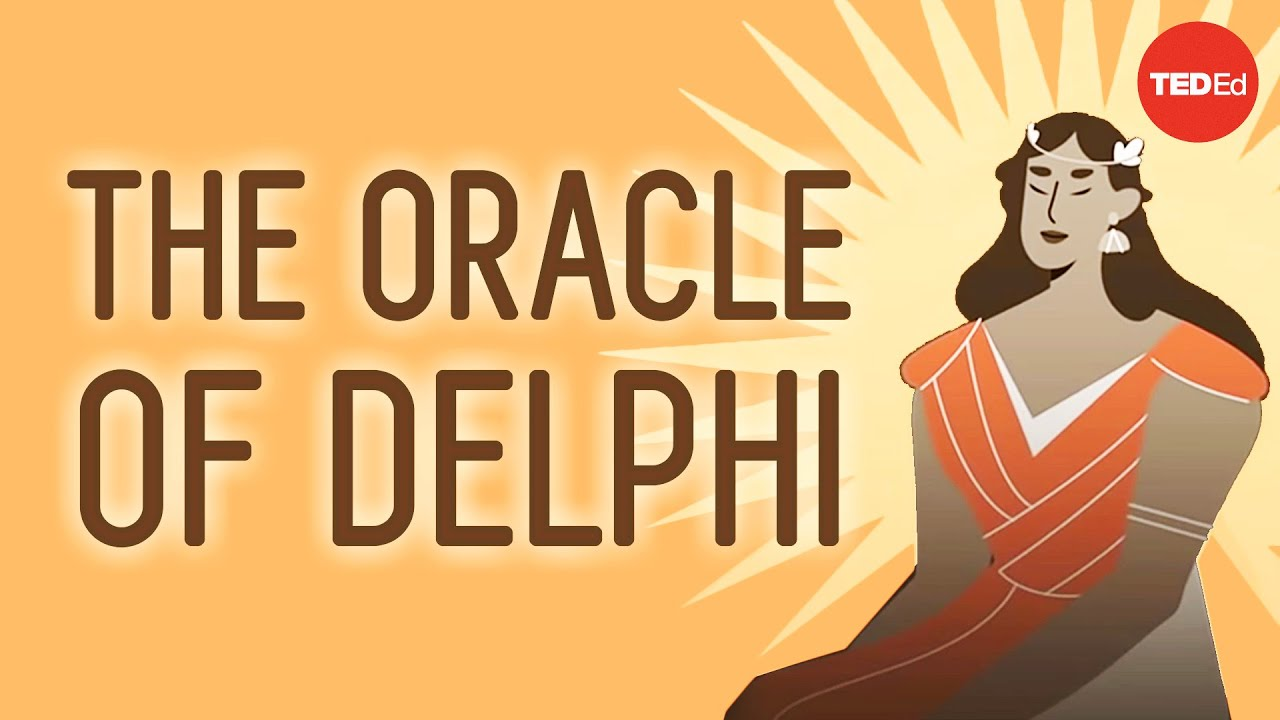 A day in the life of the Oracle of Delphi - Mark Robinson