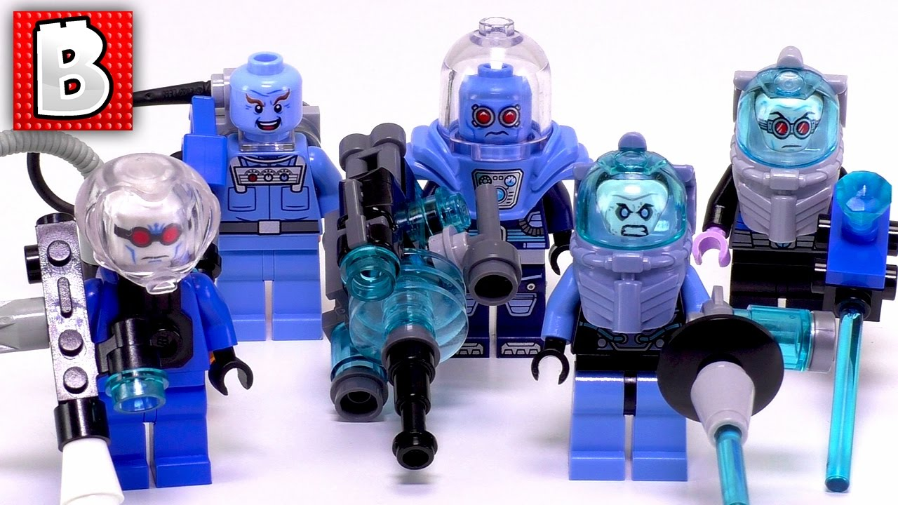 Classic TV Series Minifigure Freeze LEGO Mr