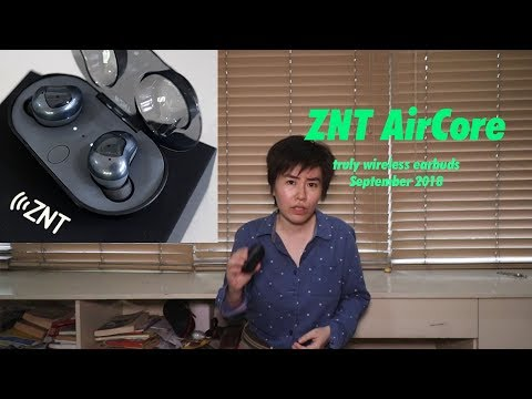 ZNT AirCore Truly Wireless Bluetooth 5.0 Earphones Review