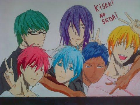 Drawing Kiseki no Sedai キセキの世代